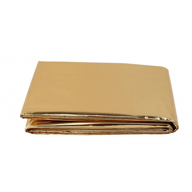 Thermal Blanket Gold Silver
