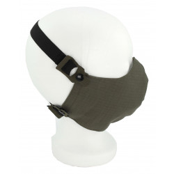 Mouth-nose protection mask stone gray-olive