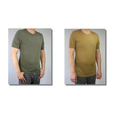 Zentauron Army-Funktions-T-SHIRT 100% Lyocell