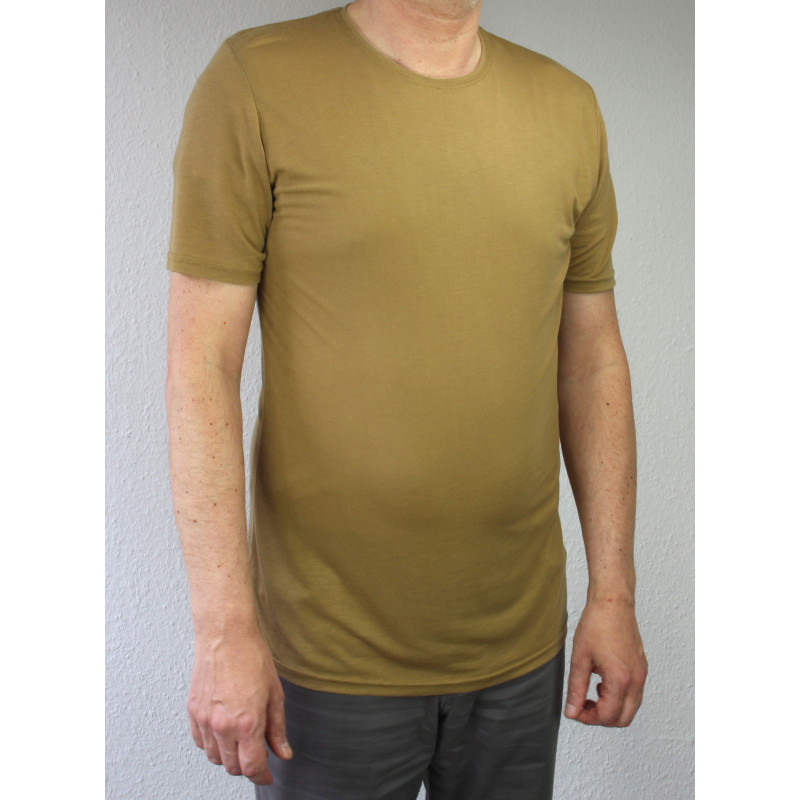 Zentauron Army-Funktions-T-SHIRT 100% Lyocell coyote