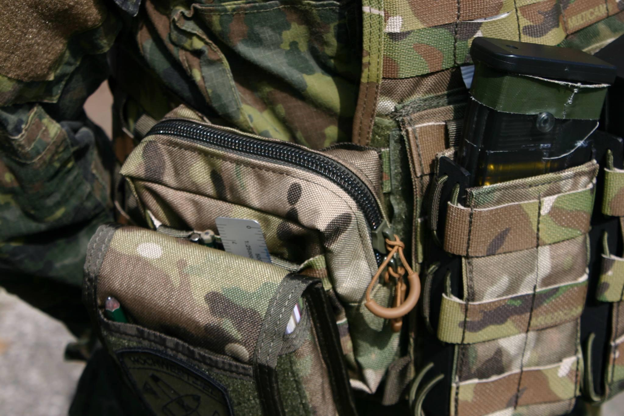 ZentauroN Kommandeures Tasche in Multicam