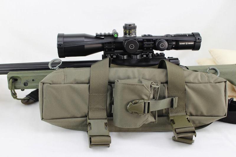 ZentauroN Zielfernrohrtasche erweitert mit der G22 Magazintasche