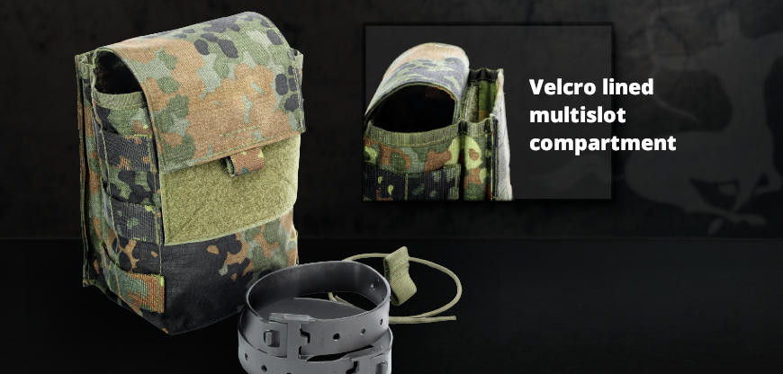 New: Multi-purpose pouch Multislot