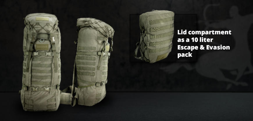 NEW: Sentinel Combat Backpack 55+10 L